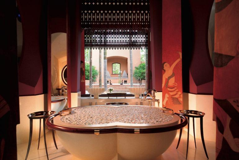 bathroom in villa at Phulay Bay, a Ritz-Carlton Reserve