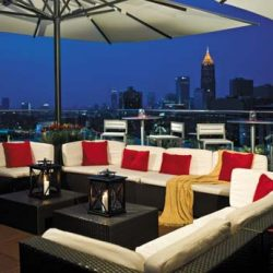 11 Stories, the rooftop of the Glenn Hotel, one of my favorite places in Atlanta