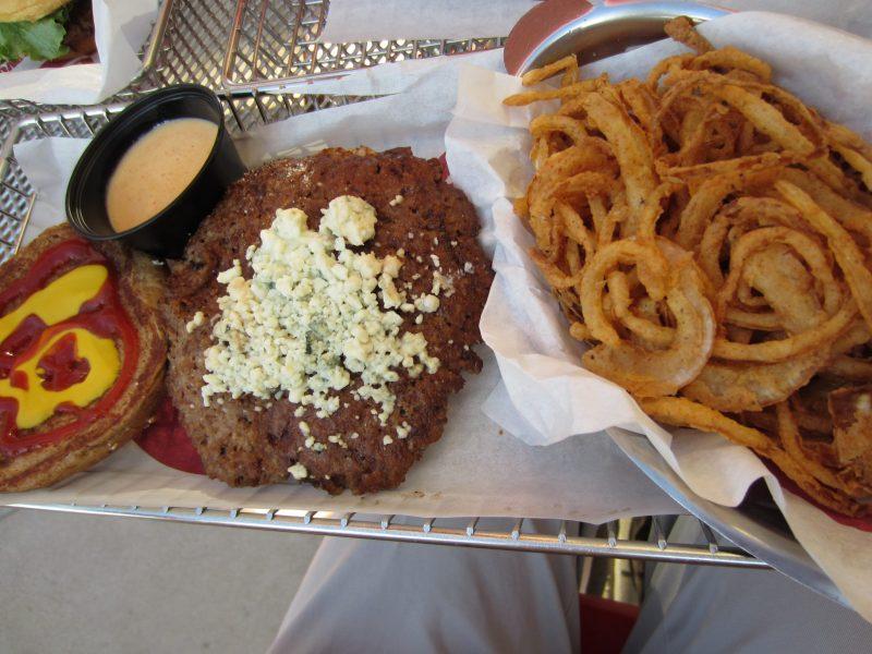 burgers at Smashburger