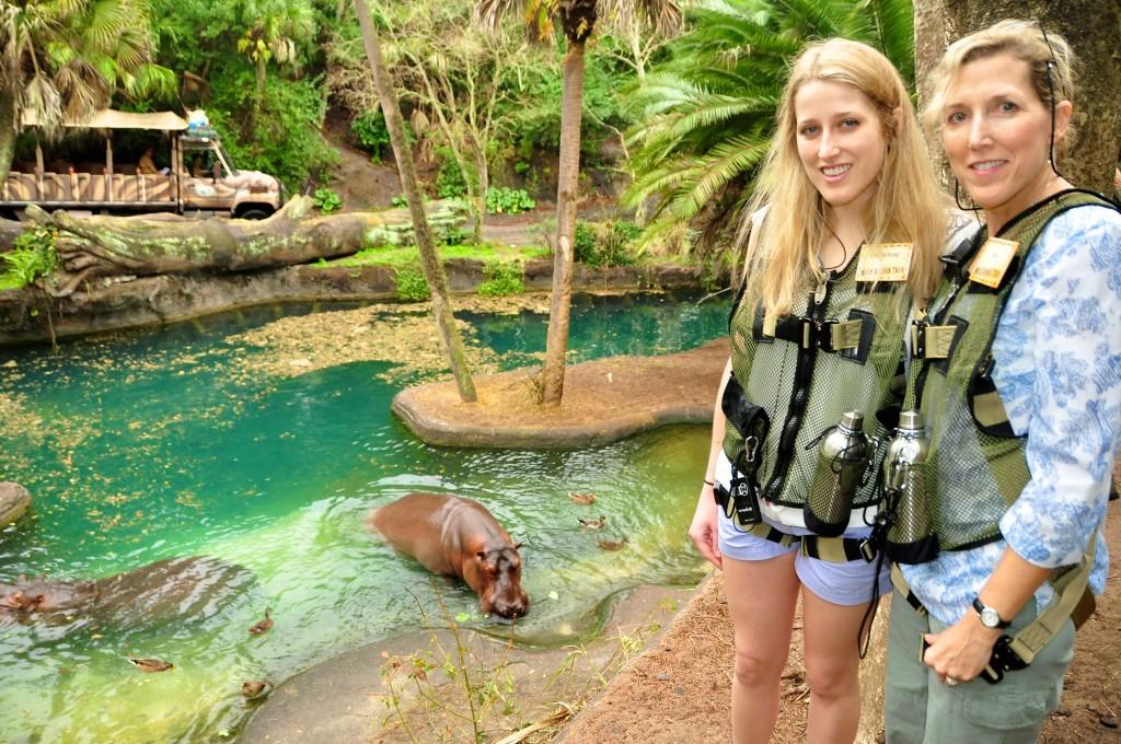 Wild Africa Trek, hippos