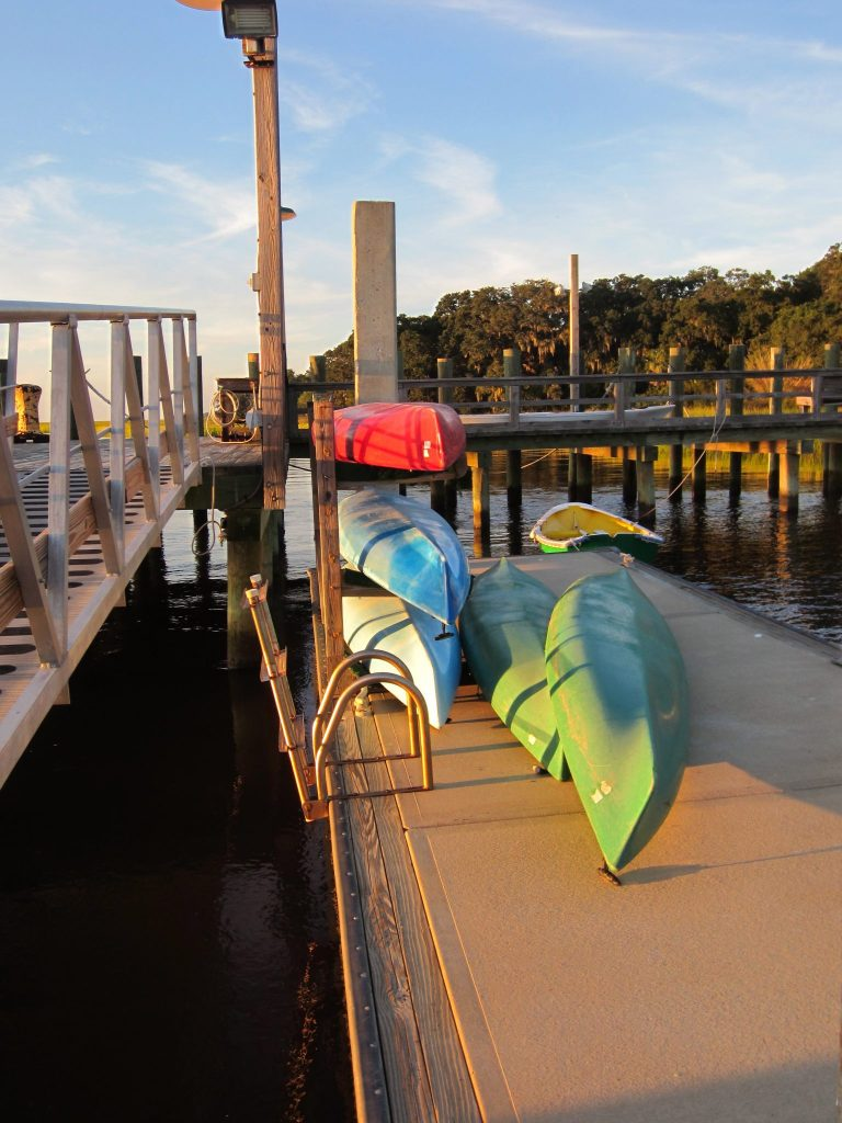 kayak, Cumberland Island