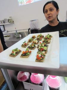 A tray of vegan goodies at Feel Good Guru in Toronto, a stop on the Foodies on Foot Insider's Tour