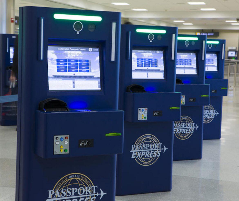 Global Entry Card kiosk