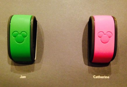 Our personlized MagicBands