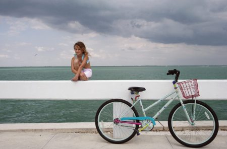 A strong wind kept me away from the beach, but I loved biking by the water along the path that took me from the Gulf of Mexico to the Pine Island Sound.
