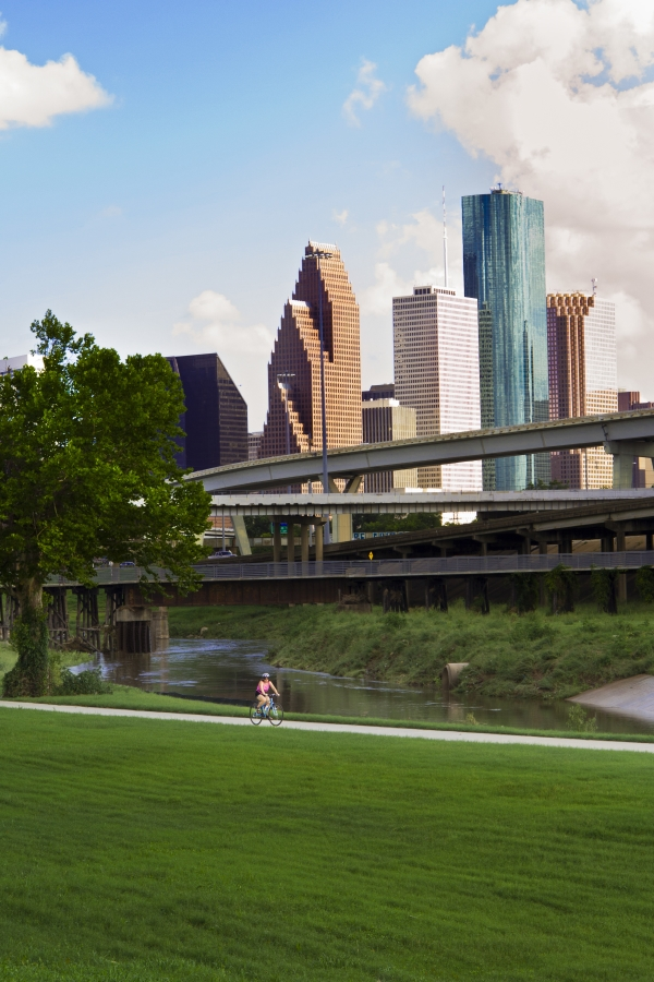 White Oak Bayou, Houston