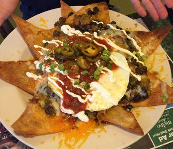 Huevos rancheros, The Metro Diner, Jacksonville