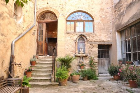 For just 115 Euros a night, you can rent this charming 16th-century two-bedroom stone house in Avignon, France. Wouldn't this be the perfect setting to work on that book?