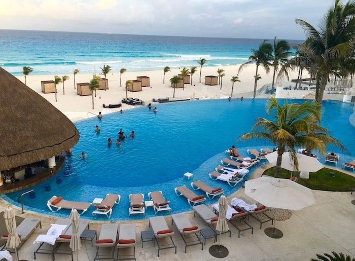 Le Blanc beach, Palace Resorts