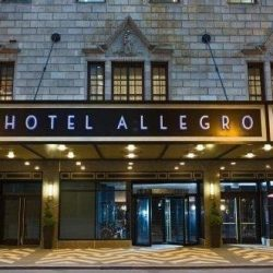 Hotel Allegro is in the theater district, close to shopping and Millennium Park, shopping and the theater district.