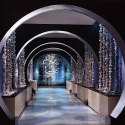 The enchanting entryway to Azurea at One Ocean Resort
