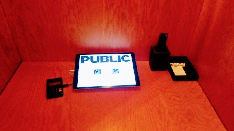 check in, Public Hotel, New York City