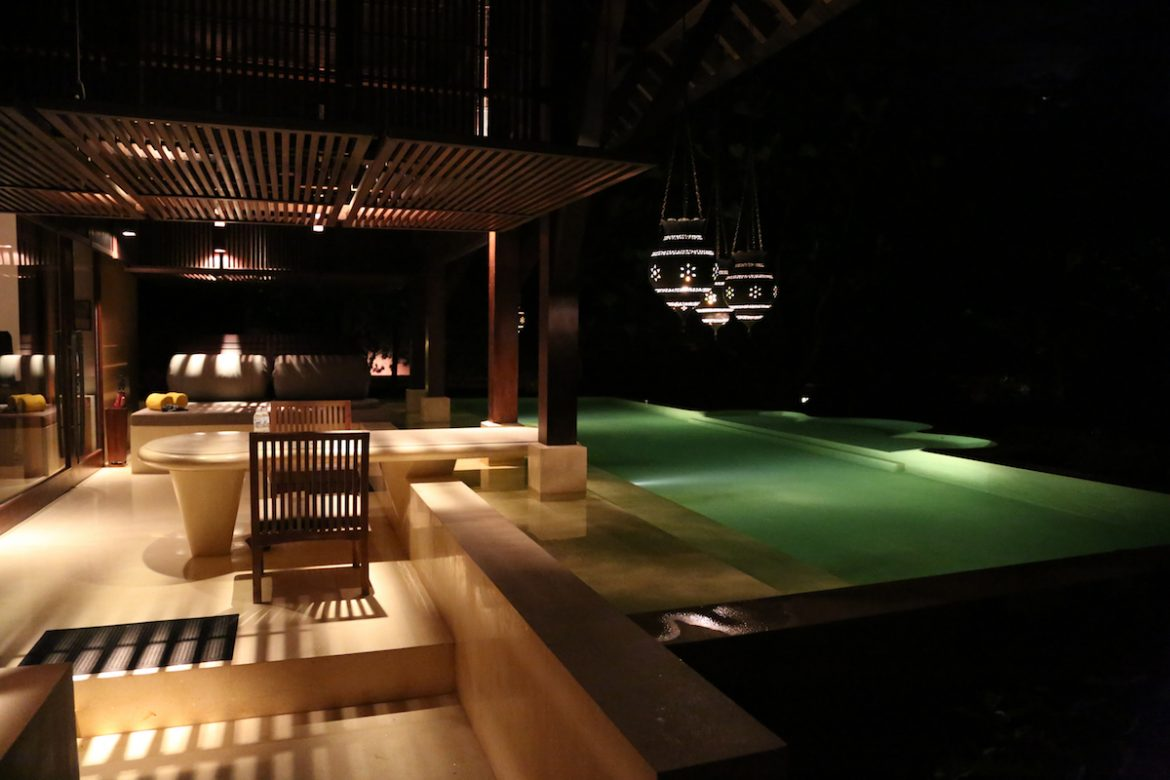pool at Royal Villa, Phulay Bay