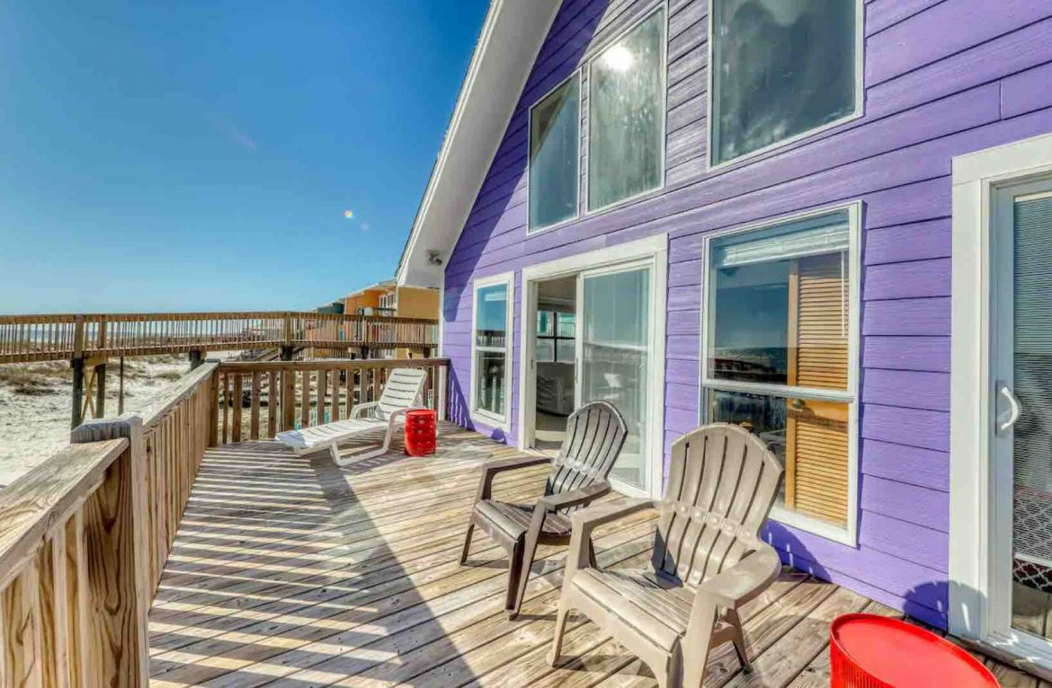 Airbnb home on Gulf Shores