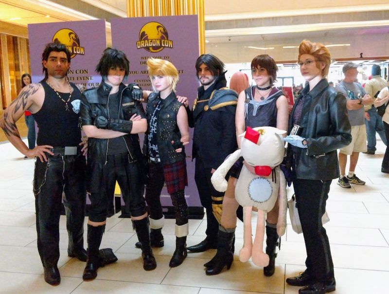 Dragon Con, costumes