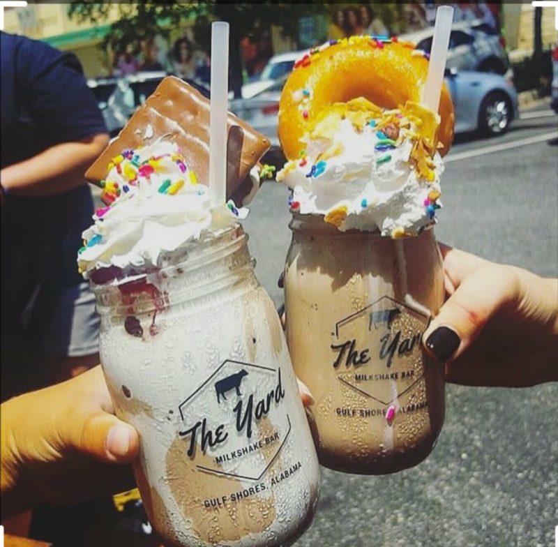 milkshake, The Yard Milkshake Bar
