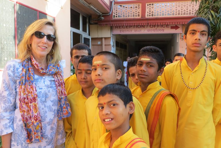 orphans in Rishikesh
