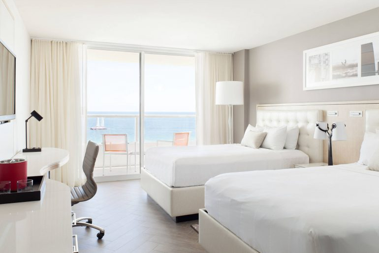 Marriott Stanton South Beach bedroom