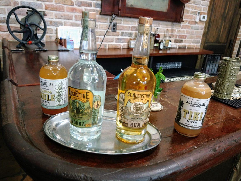 spirits at S. Augustine distillery