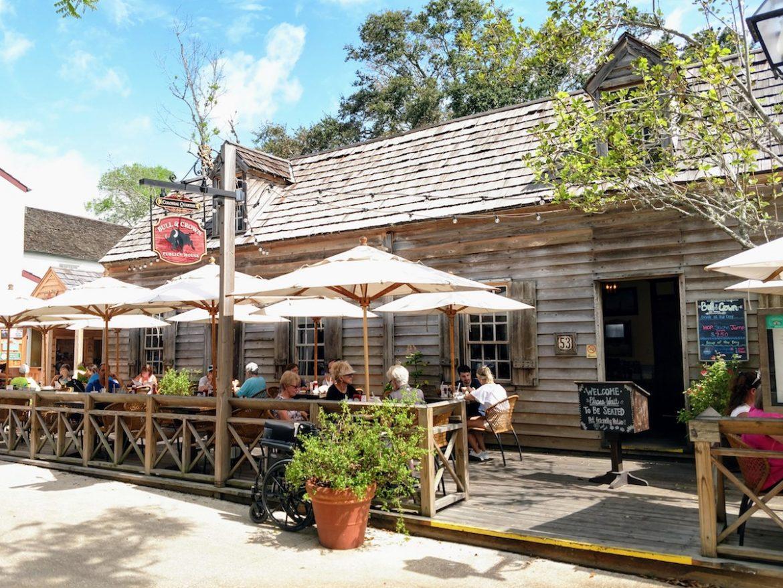 historic tavern, St. Augustine, Florida