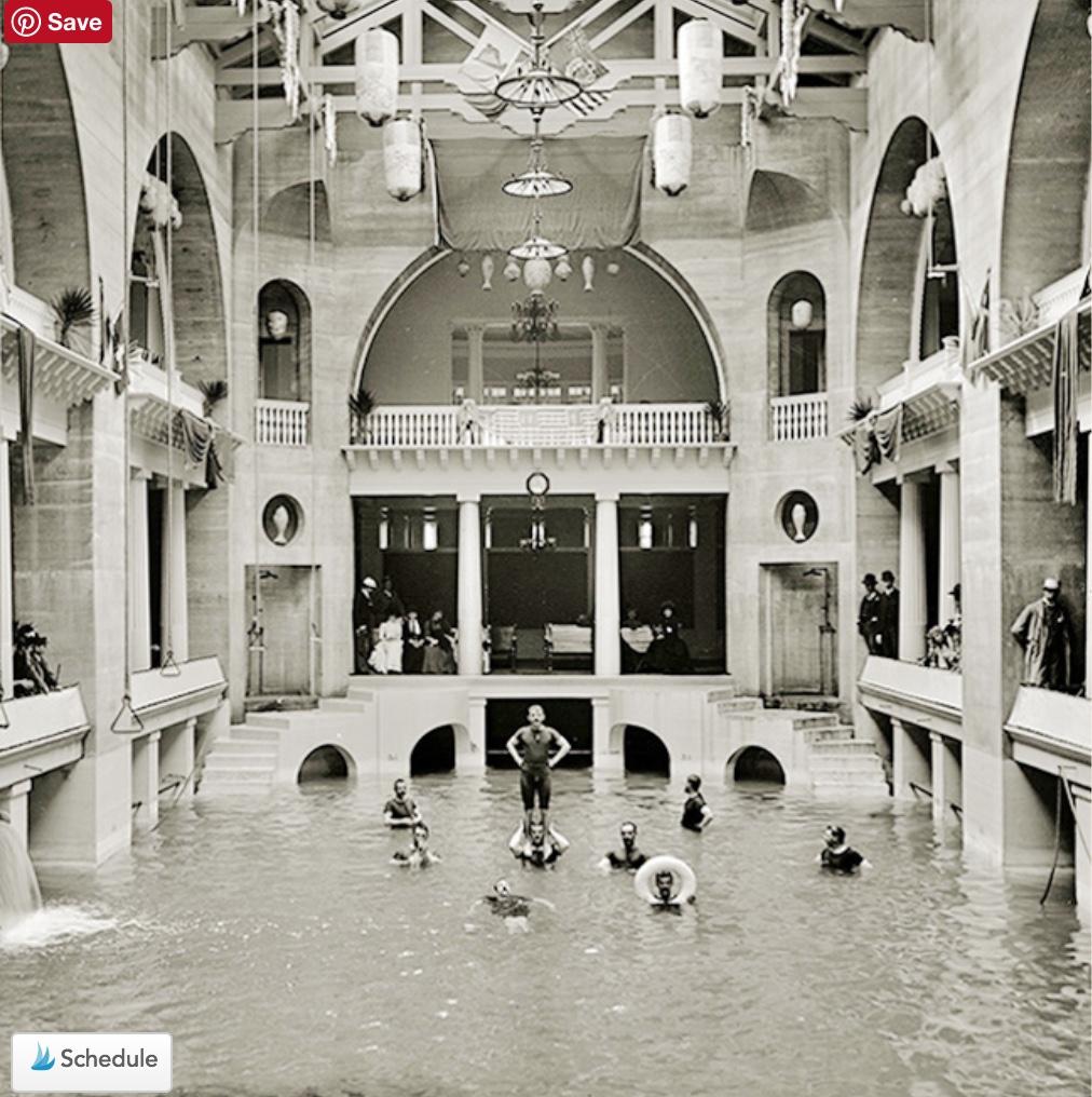 swimming pool, Alcazar Hotel