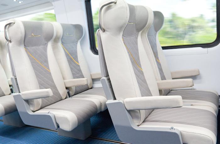 seats on brightline train