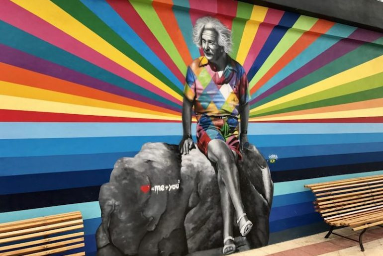 mural in West Palm Beach, CANVAS Outdoor Museum