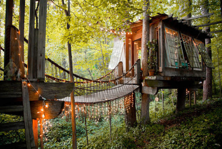 treehouse in Atlanta, Georgia