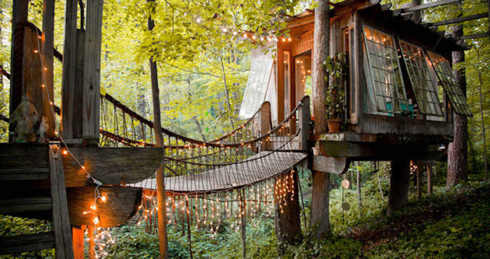 Treehouses in Georgia: 5 Places to Sleep in the Trees