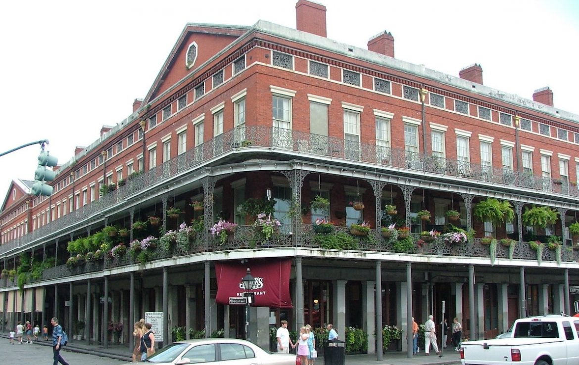 Pontalba Apartments in New Orleans
