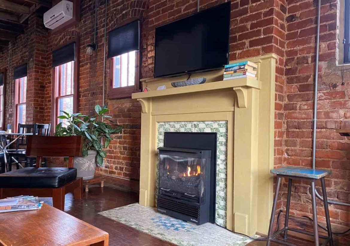 Firehouse loft airbnbs in chattanooga