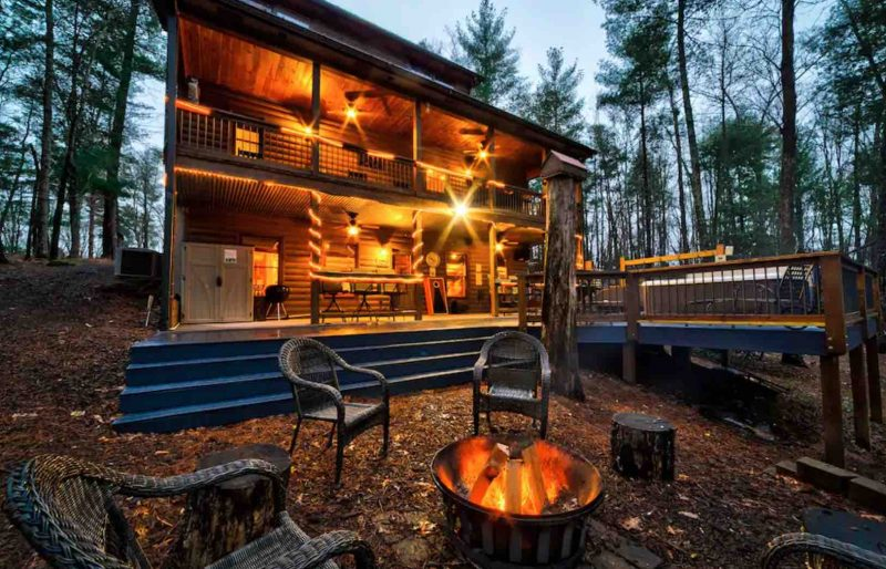 Big Timber Lodge one of the north georgia luxury cabin rentals