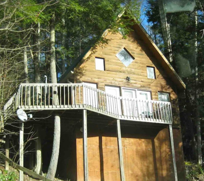 Echo Fall Cabin treehouse kentucky