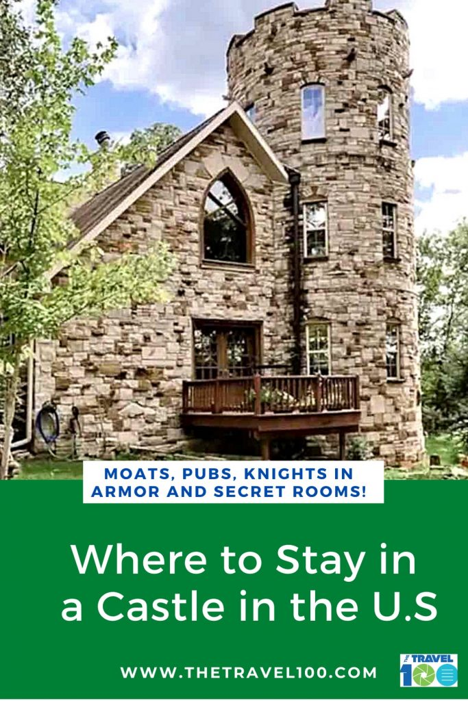 Pinterest post for rental castles usa