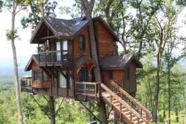 sanctuary treehouse in asheville north carolina